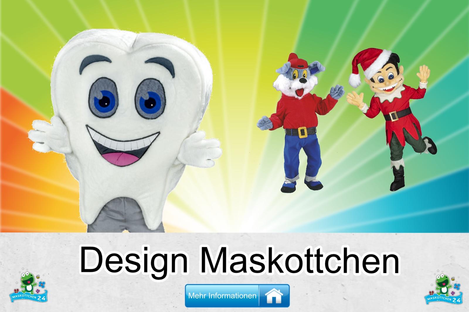 Design Maskottchen Kostüm kaufen