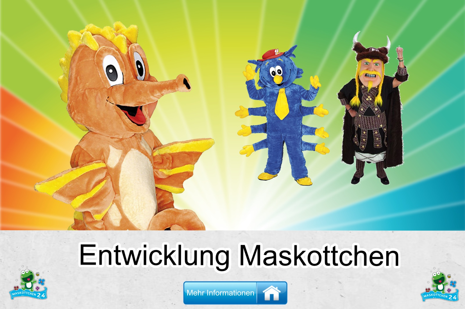 Entwicklung Maskottchen Kostüm kaufen