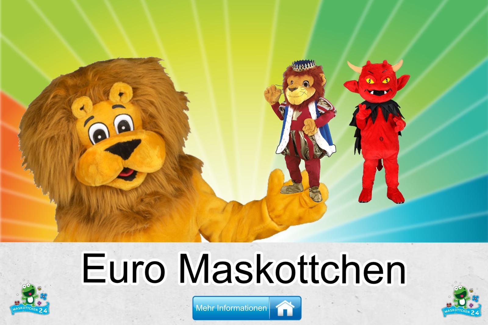 Euro Maskottchen Kostüm kaufen