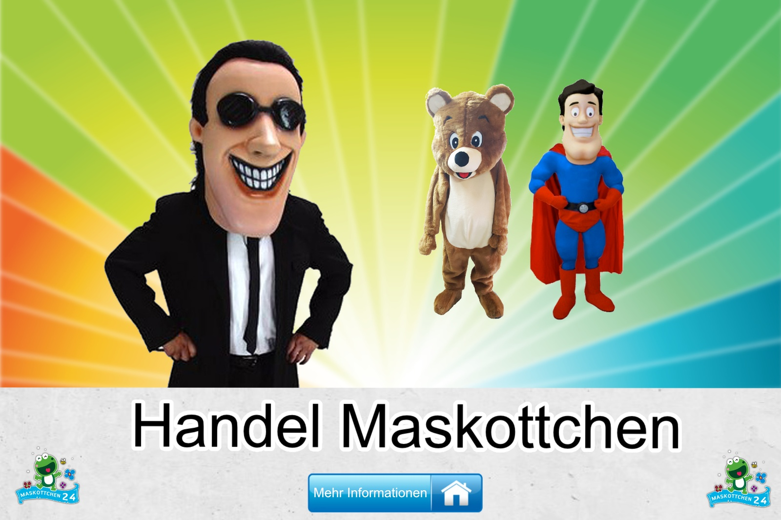 Handel Maskottchen Kostüm kaufen