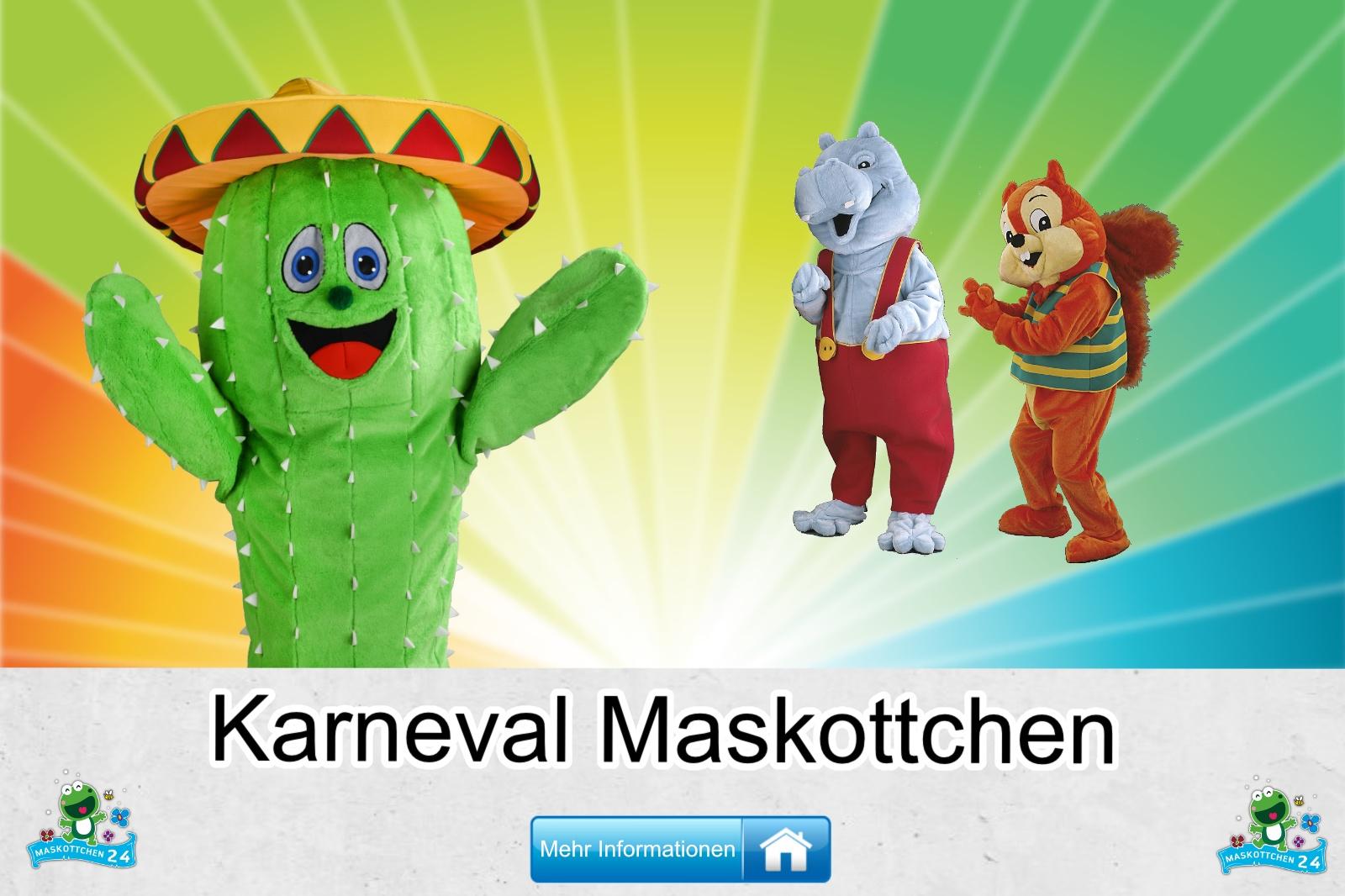 Karneval Maskottchen Kostüm kaufen