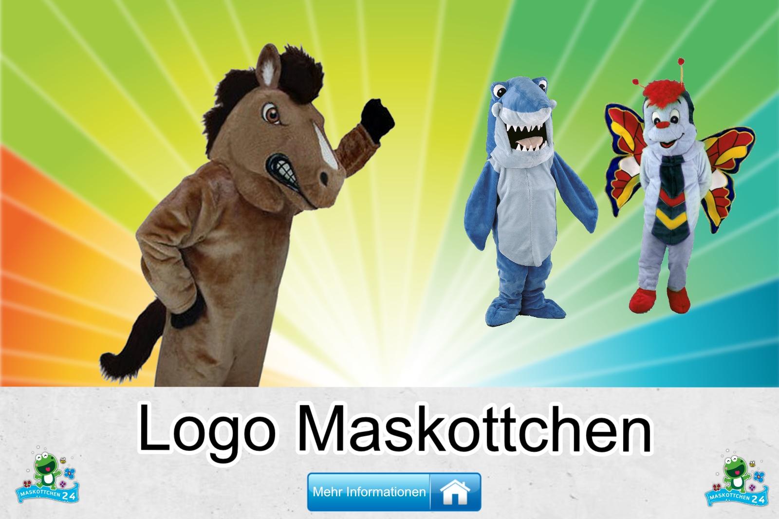 Logo Maskottchen Kostüm kaufen