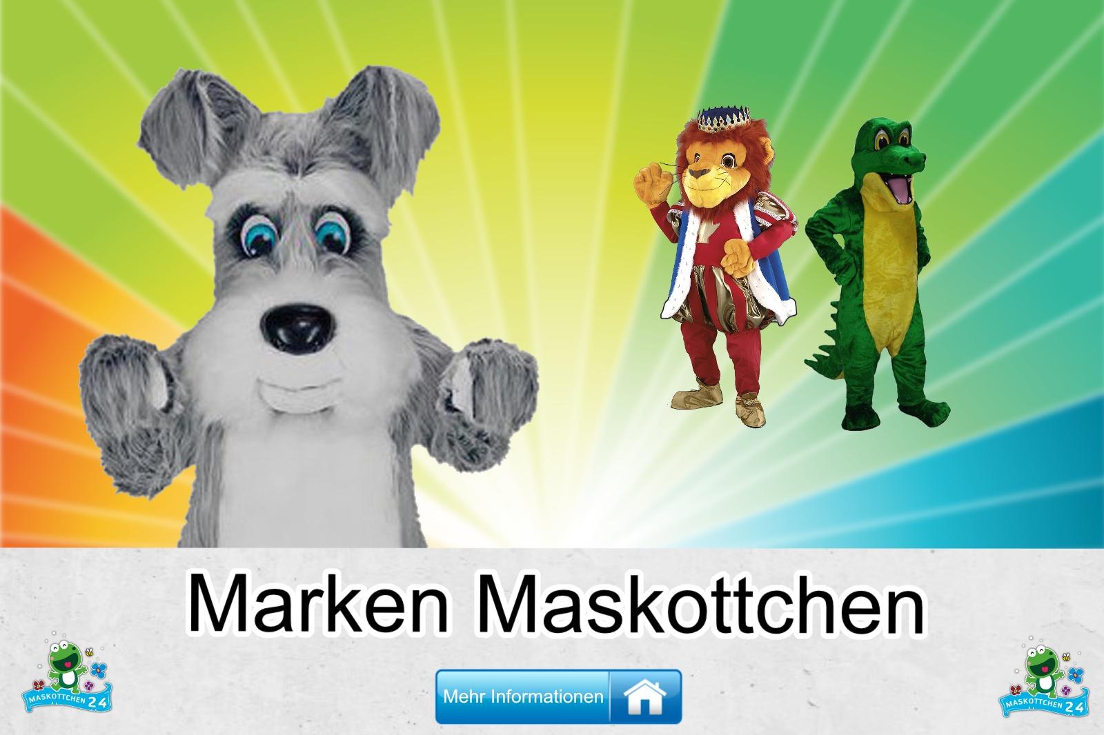 Marken Maskottchen Kostüm kaufen