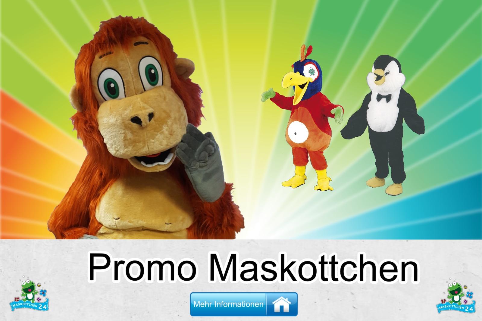 Das Promo, Maskottchen Kostüm kaufen, günstige Produktion und Herstellung.