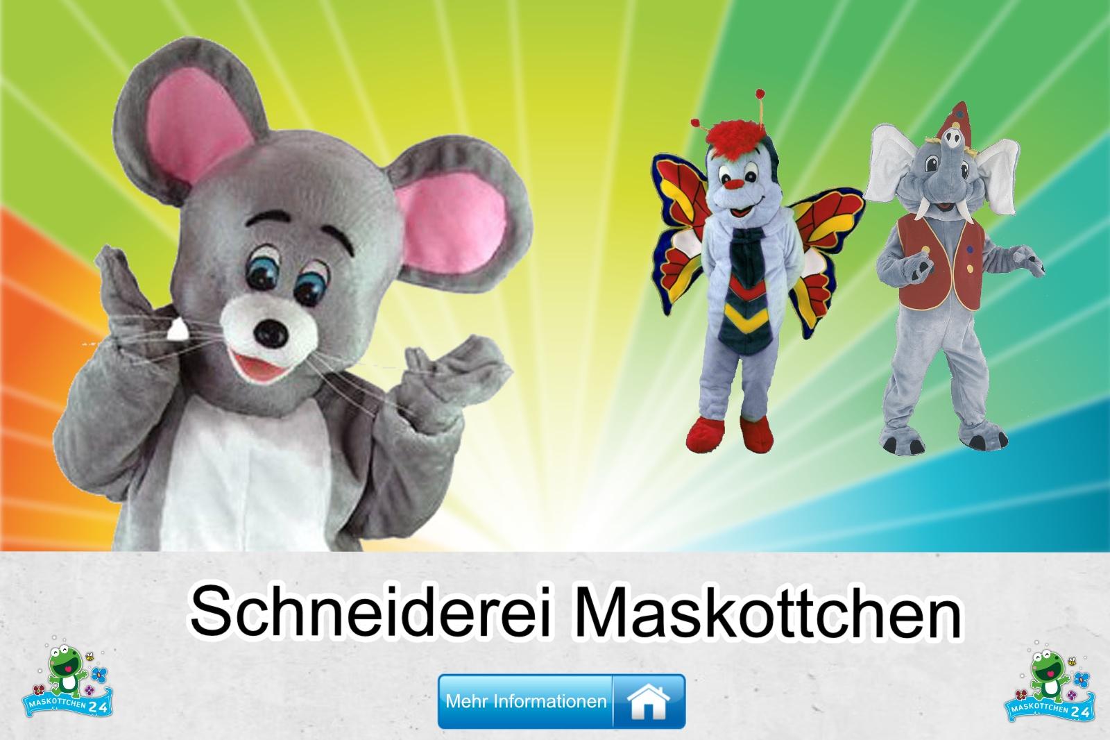 Die Schneiderei, Maskottchen Kostüm kaufen, günstige Produktion und Herstellung.
