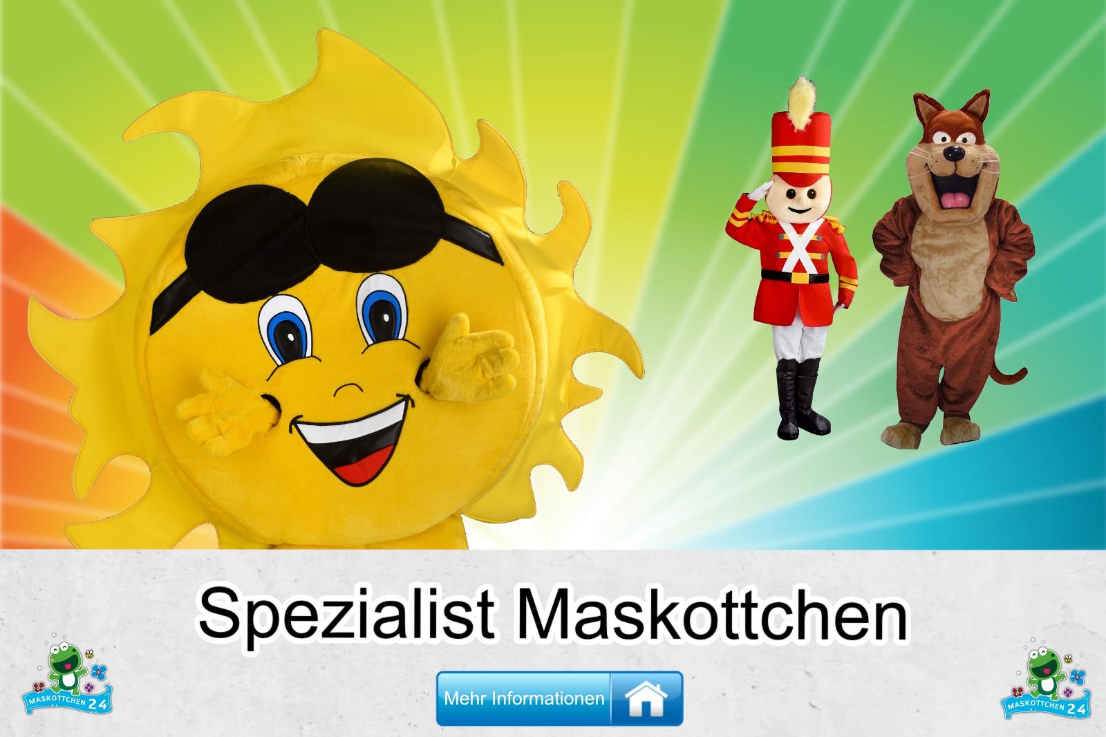 Der Spezialist Maskottchen Kostüm kaufen, günstige Produktion und Herstellung.
