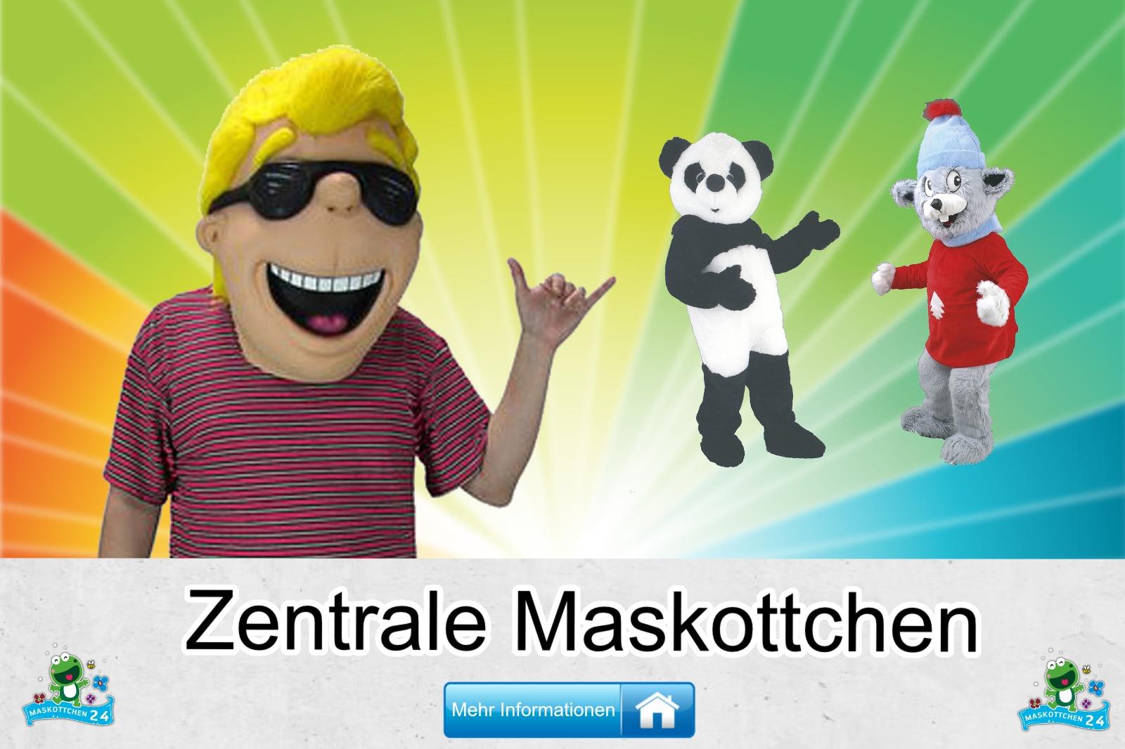 Zentrale Maskottchen Kostüm kaufen