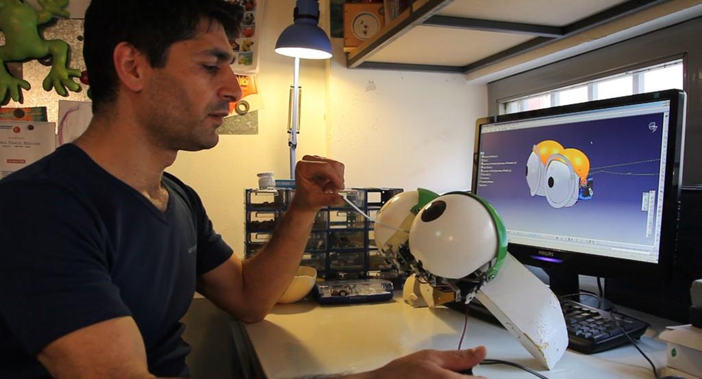 Animatronik-kostuem-maskottchen