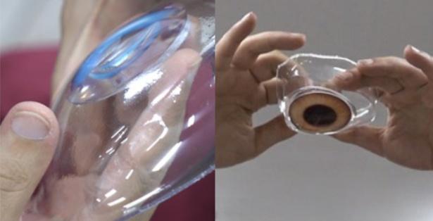 Augen-Produktion-Maskottchen-Kostuem