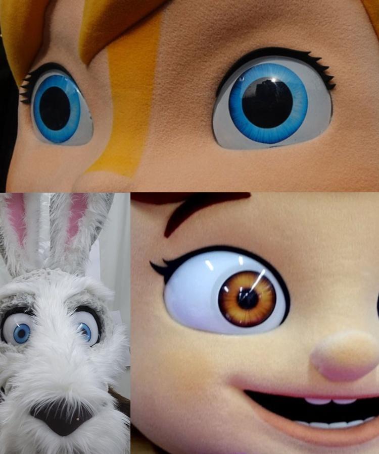 Herstellung-Kostueme-Augen-Maskottchen