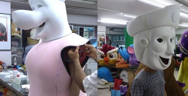 Produktion-Maskottchen-Firma